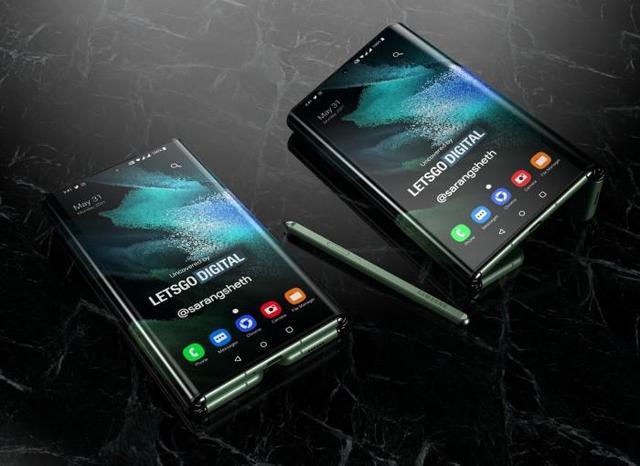 三星最新三折叠手机 看完你就知强大